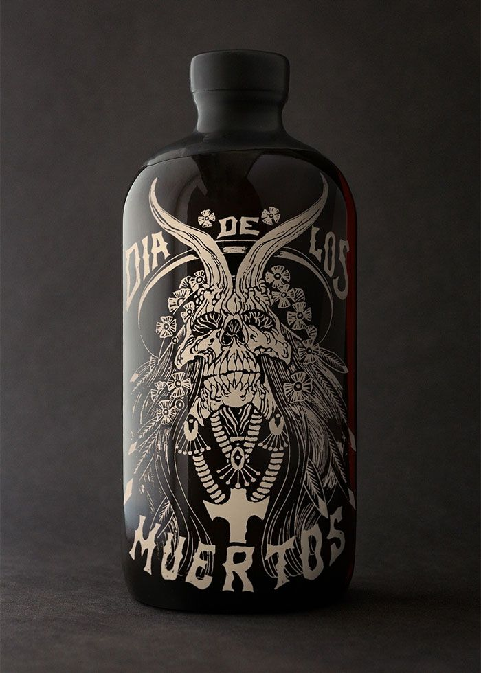 Day of the dead horchata rum, sounds interesting.  Nice design otherwise.