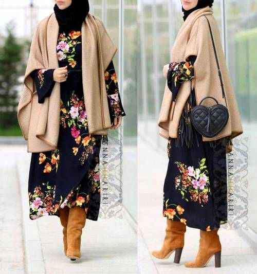 Elegant and modern hijab fashion looks – Just Trendy Girls