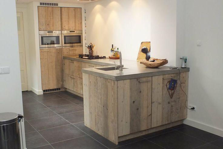 Landelijke keuken van steigerhout - De Landelijke Keuken - sfeervol  persoonlijk