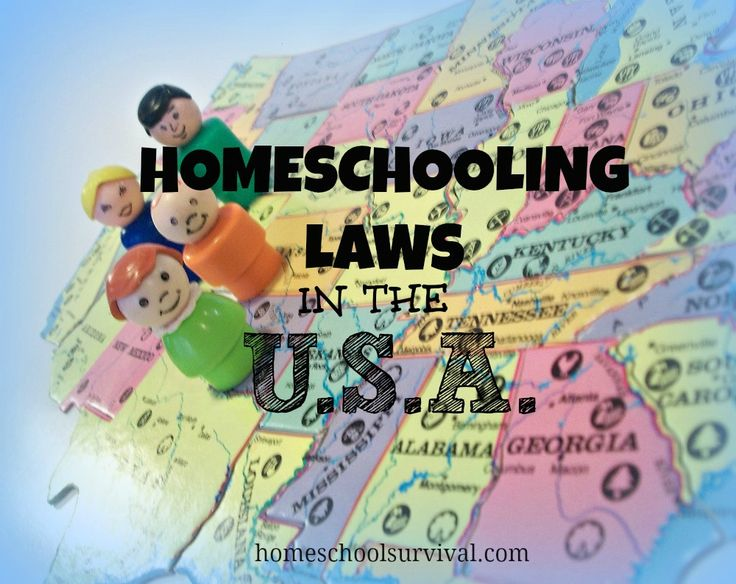 Homeschooling Laws in the U.S.- this is a great resource with laws and links to laws on each state! #homeschoollaws