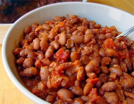 Texas-Style Baked Beans Recipe — Dishmaps