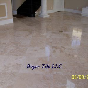 No Grout Ceramic Tile Flooring