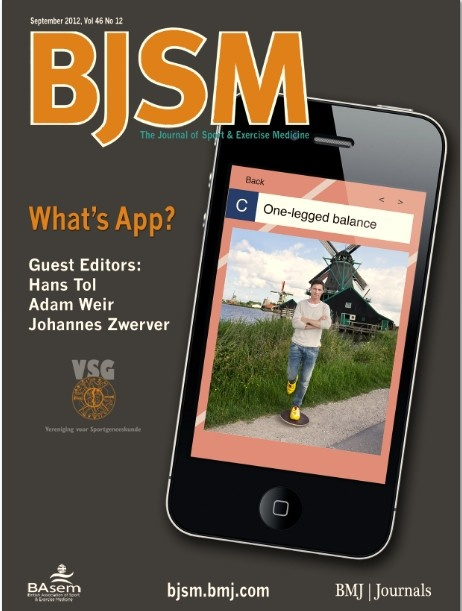 BJSM Volume 46 Issue 12 | September 2012 ~ What's App?