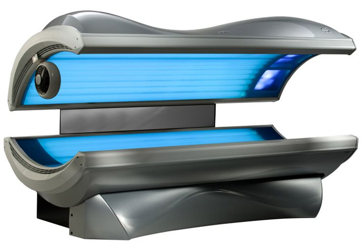 "negative effects on tanning beds ""any kind of tanning with radiation is bad for you,"" says khorasani  ""the lighter  your skin, the more visible aging effects you'll see from uv."