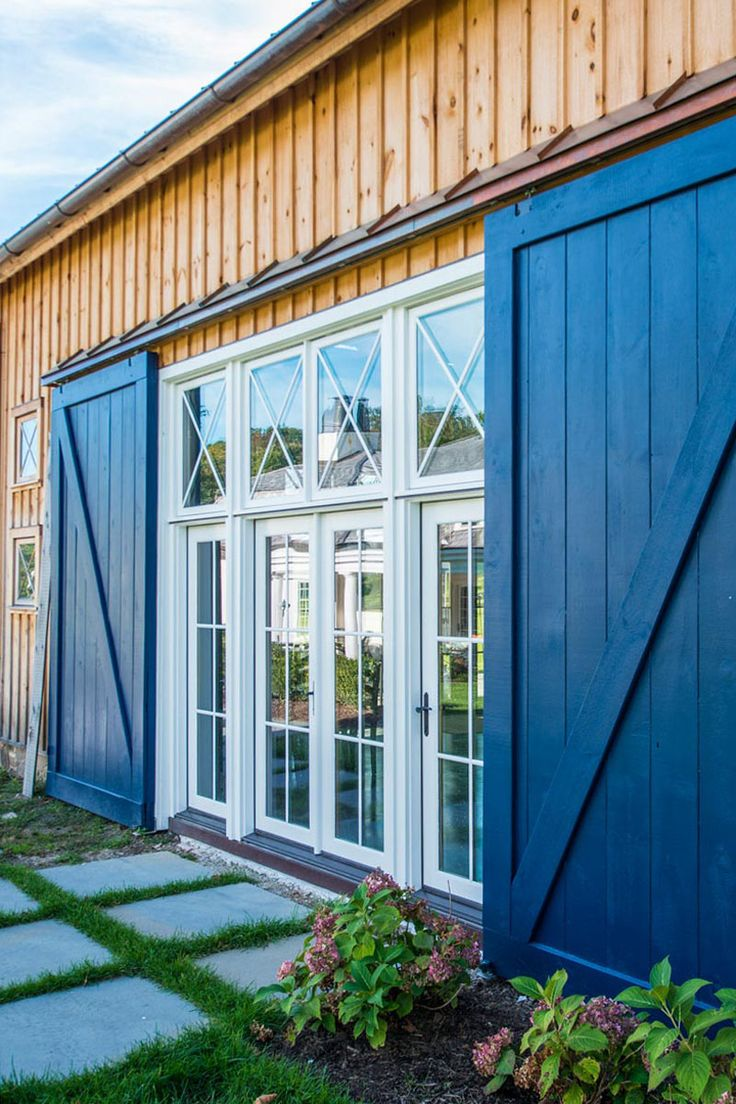 1000 ideas about exterior barn doors on pinterest - How to install an exterior sliding barn door ...