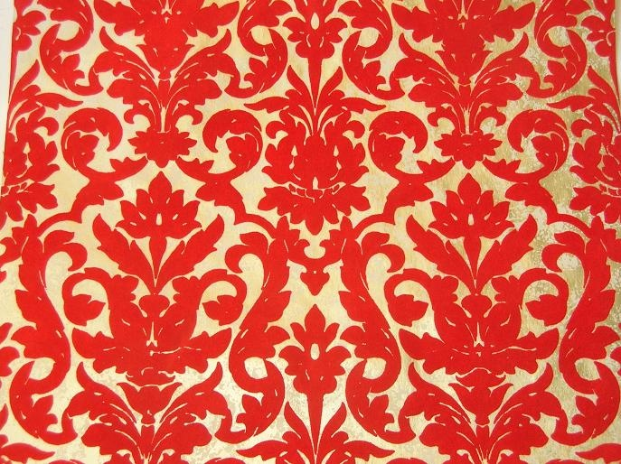    wallpaper: Crafts Ideas, Bold Wallpapers, Autumn Room, Pattern, Pink Wallpapers, Red Wallpapers, Red Velvet, Wallpapers Obsession, Ideas Decor