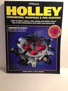 Hpbooks Holley Carburetors Manifolds and Fuel Injection Manual 4th Edition | eBay