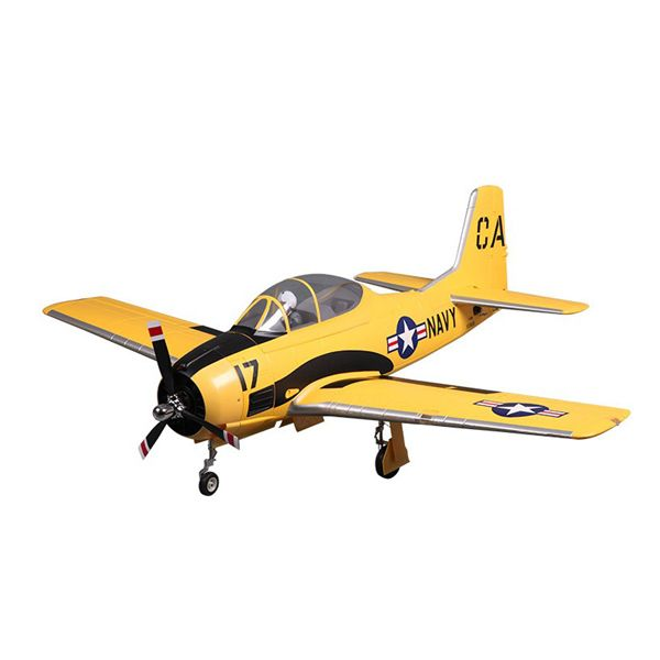 $499.99 Trojan Yellow 1400mm Wingspan RC Airplane PNP