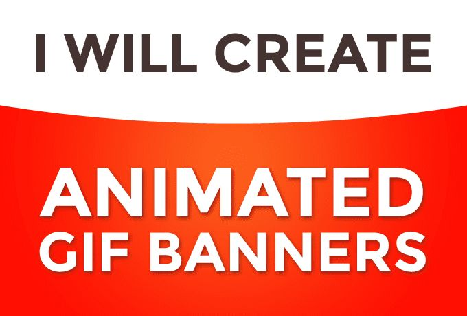 I will create amazing ANIMATED GIF BANNER WITHIN 24 HOURS  Why this Gig is Different from other Sellers? if you have no Design (PSD File) then dont worry. I will design and animate the gif banners with the same price.  NO HIDDEN CHARGES FOR DESIGINING.  What We Do? animated gif banner Ads design and animation Banner ads Design  Header ads   Why Choose ME? 100% satisfaction and Money Back Gureentuee Fast delivery and Unlimited Revision Fast Response to Queries Free PSD Files  if you have any…