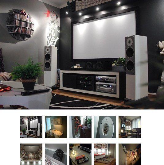 Gone IKEA Crazy: Johanu0027s Ultimate Home Theater Hack