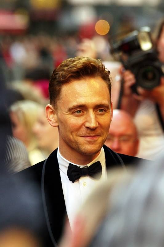 Tom Hiddleston at GQ Awards 2013 by BERNDT2