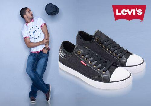 Cool στυλ σε κάθε βήμα με ανδρικά αθλητικά sneakers παπούτσια Levis, Μόνο με 29,00€