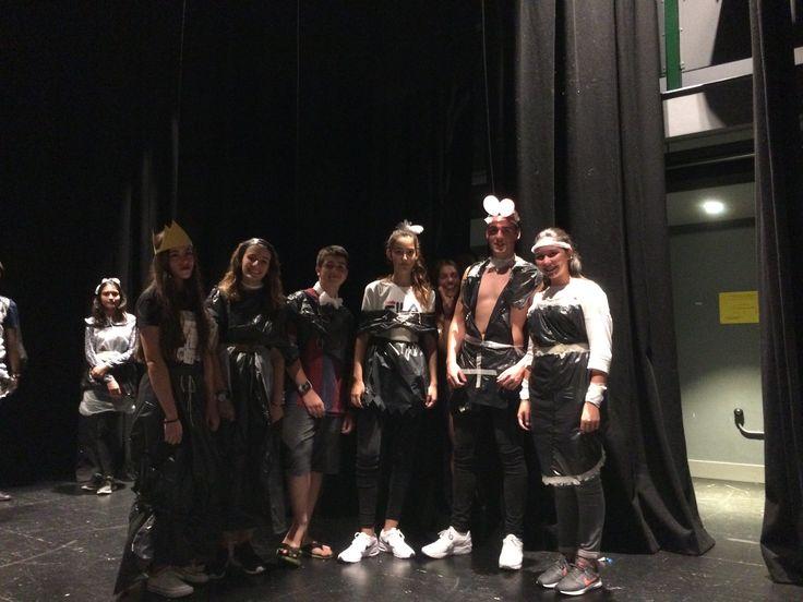 Bin Bag fashion show   Clásico programa nuestro en Christ College. Actualmente es una de las escuelas independientes más antiguas y exitosas de Gran Bretaña      #SummerCamp #WeLoveBS #inglés #idiomas #ReinoUnido #RegneUnit #UK #Wales #Gales