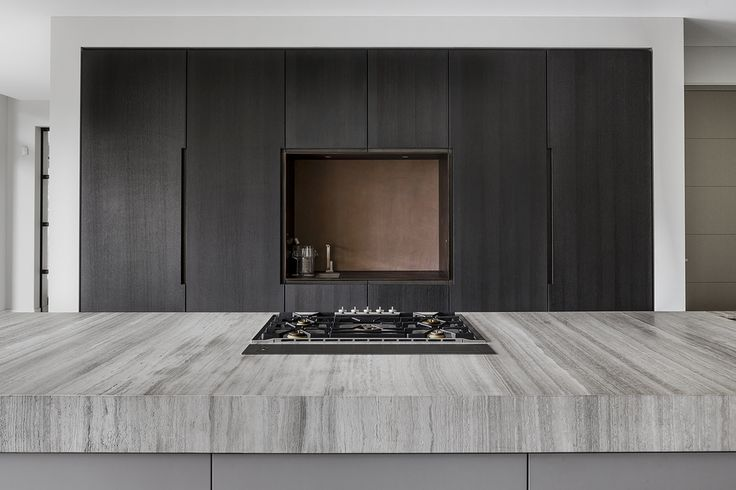 Hullebusch - OAK GREY - woodstructure - kitchen - by Bob Manders