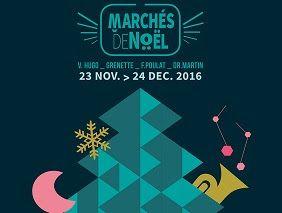 MARCHÉS DE NOËL Profitez des derniers jours des marchés de Noël de Grenoble, des marrons chauds et des nombreux exposants pour vos cadeaux de dernière minutes.  Actualités et réservation en ligne sur http://www.institut-hotel.fr