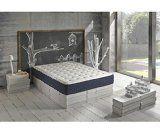 Matelas à Mémoire Viscoélastique 4cm Luxury Confort (180x200cm)