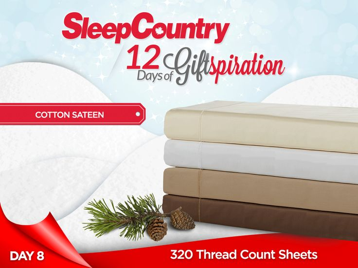 Day 8: Our Terrific 320 Thread Count Cotton Sheets