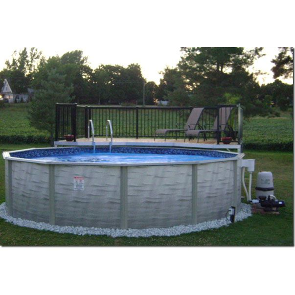Pictures Of 18 Above Ground Pools With Decks Pool