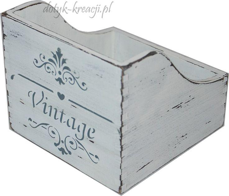 Pojemnik na przyprawy Vintage. Do kupienia na     http://dotyk-kreacji.pl/
