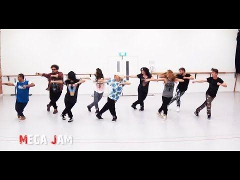 'Uptown Funk' Mark Ronson ft. Bruno Mars choreography by Jasmine Meakin (Mega Jam) - YouTube