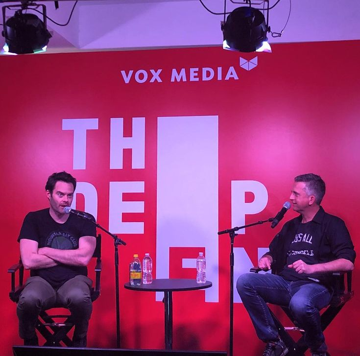 The always hilarious Bill Hader discusses his new @hbo show Barry his days on SNL and more with @sptguy33 at the @voxmedia Deep End @sxsw.  #snl #hbo #voxdeepend
