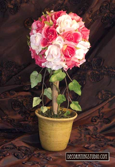 Images about topiaries on pinterest peach rose