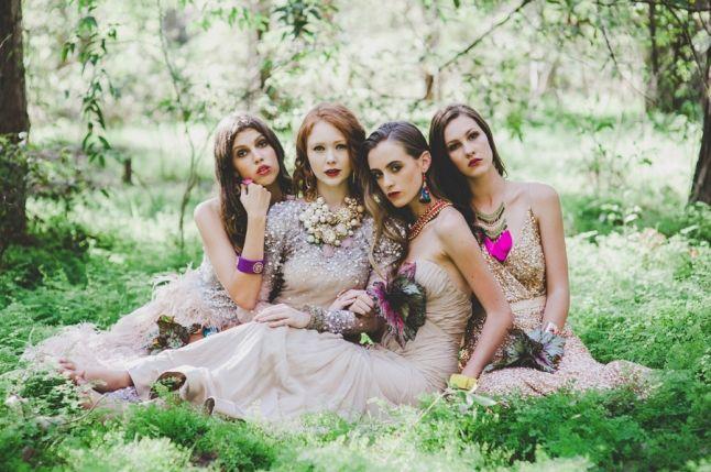 sydney based make up artist megan vaughan at one fine day wedding fair | One Fine Day Sydney | Wedding Fair Sydney