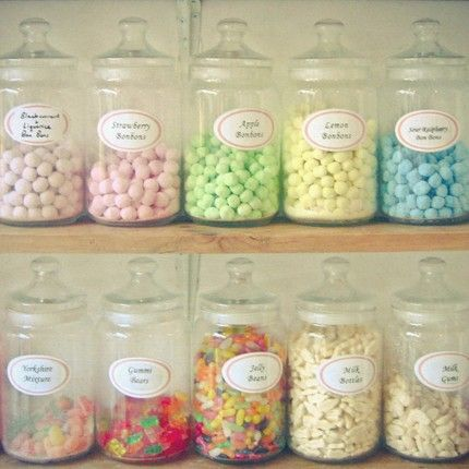 Pastel Colored Candies!
