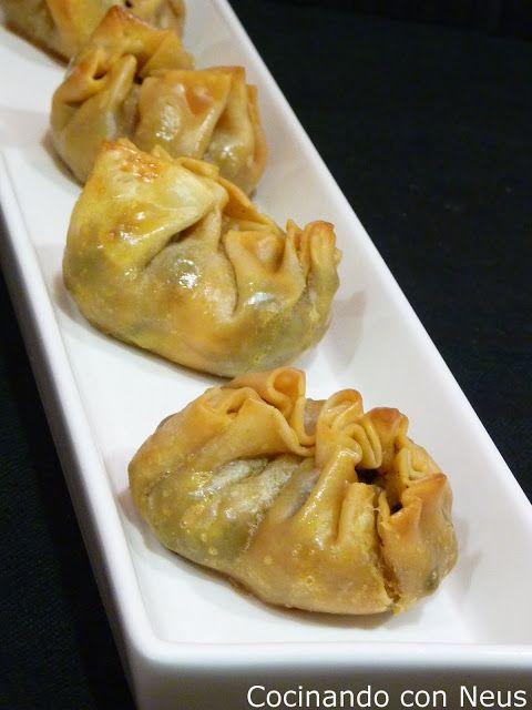 Cocinando con Neus: Bocaditos de morcilla y manzana