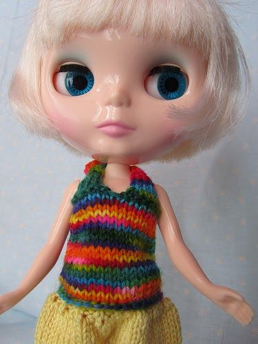 177 Best Blythe Doll Clothes And Knitting Patterns Images On