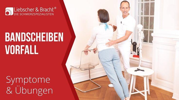 Bandscheibenvorfall | Symptome - Liebscher & Bracht Übungen | Lendenwirb...