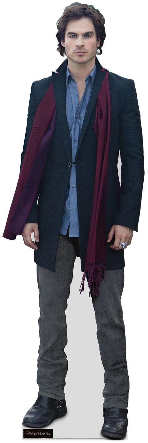 Damon Savatore from Vampire Diaries Cardboard Standup