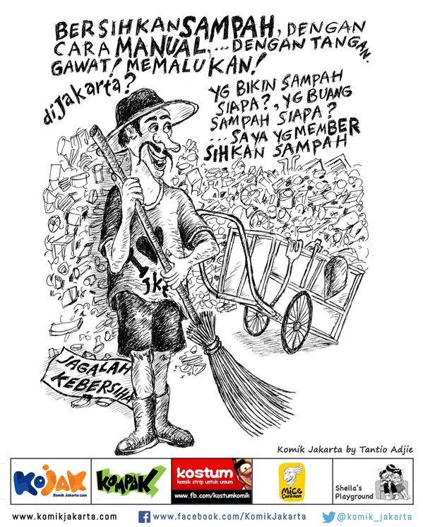 Jagalah Kebersihan by Tantio Adjie #KomikJakarta https://t.co/vjbLxamGKq