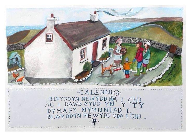 Best 100 cymraeg images on pinterest welsh language christmas happy new year greeting m4hsunfo