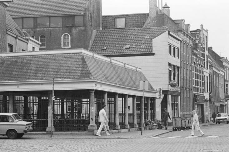 De Vismarkt in 1984