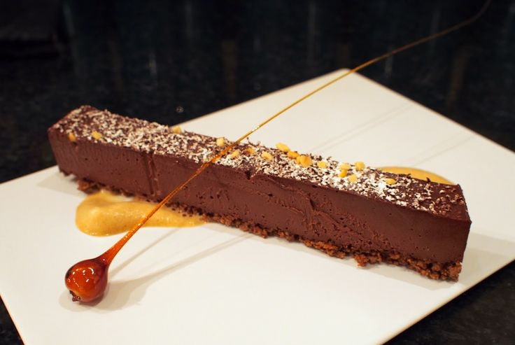 Chocolate, praline and caramel - Raymond Blanc's delice is delicious, and easier to make thank it appears...