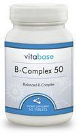 B-Complex (50 mg, Sustained Release) 100 Tablets per Bottle (3 Pack) by Vitabase. $31.54. B vitamins help to sustain the health of the skin, hair, nerves, mouth and eyes.    Many of the vitamins in the B Vitamin Complex aid in the metabolism of fat, carbohydrates and proteins.  They are also vital ingredients necessary to produce red blood cells.  Because the B-complex vitamins work with each other and with other nutrients, it is important that they be taken togeth...