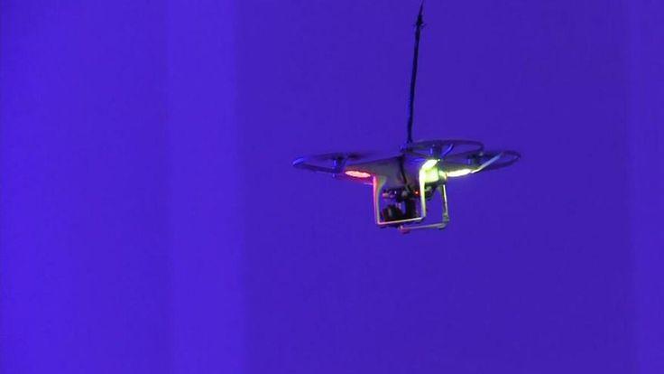 Mit Schutzschild und Abwehrgewehr: So will die Telekom Spionage-Drohnen vom Himmel holen