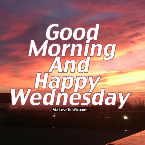 good morning wednesday | Good Morning And Happy Wednesday Pictures, Photos, and Images for ...