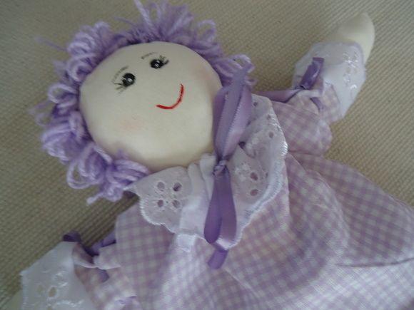 Boneca de Pano - Uva