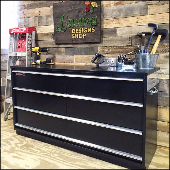 Tool Box Dresser Made to Order by LauraDesignsShop on Etsy