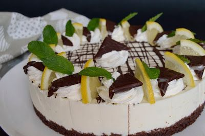 Citromhab: After Eight torta