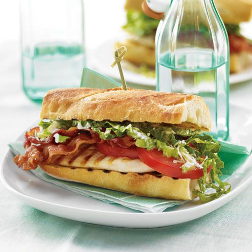 Chicken Ceasar Sandwich #recipe