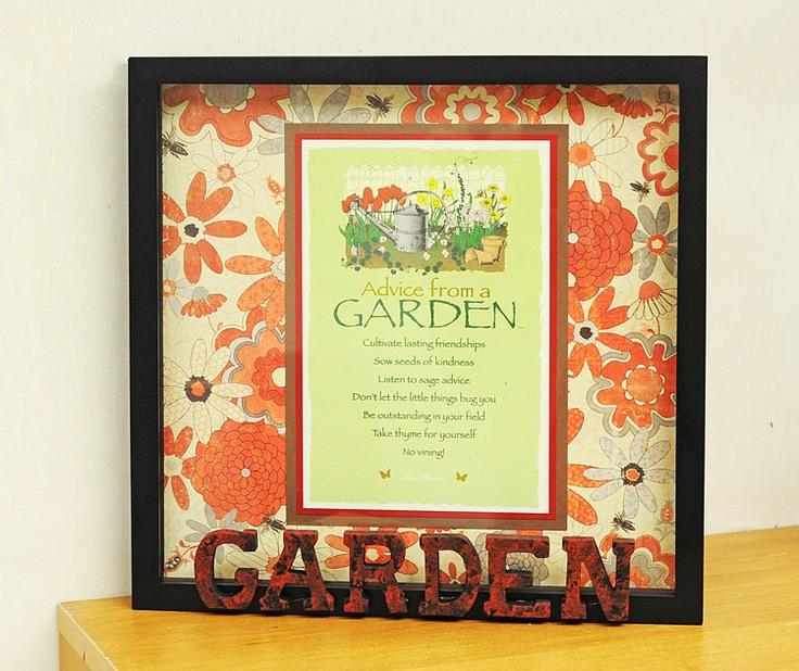 111 best framed images on pinterest frame shop custom framing advice from a garden shadowbox tutorial solutioingenieria Gallery