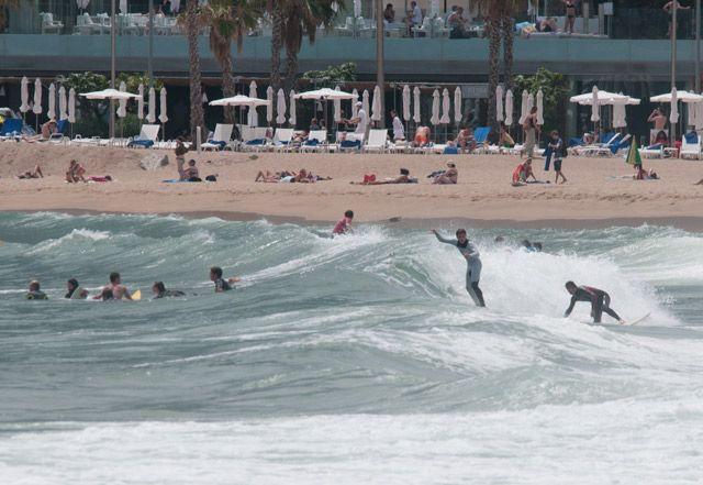 Surf en la Barceloneta