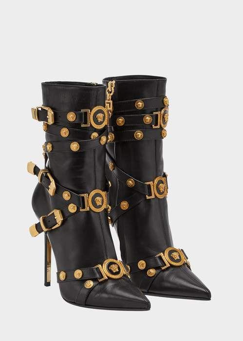 58766164347 Versace High-heel Tribute Boots Vanidades