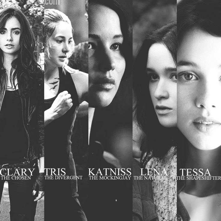 The Mortal Instruments - Divergent - Hunger Games - Beautiful Creatures - The Infernal Devices OMG yes!!!