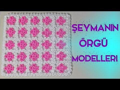 Zigzaglı Kare Lif Modeli Baştan Sona Detaylı Anlatım - YouTube