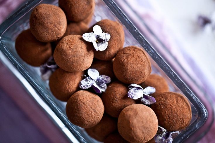 Chocolate Champagne Truffles