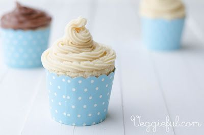 Easiest Vegan Vanilla Cupcake recipe ever. All stuff you probably have on hand, and just a few simple steps to cupcake bliss.
